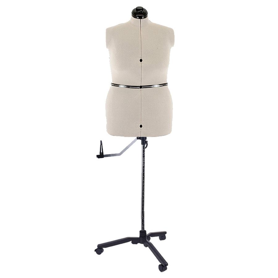 SewingMachinesPlus.com Ava Collection Large Adjustable Dress Form With New Style Base With Casters Included