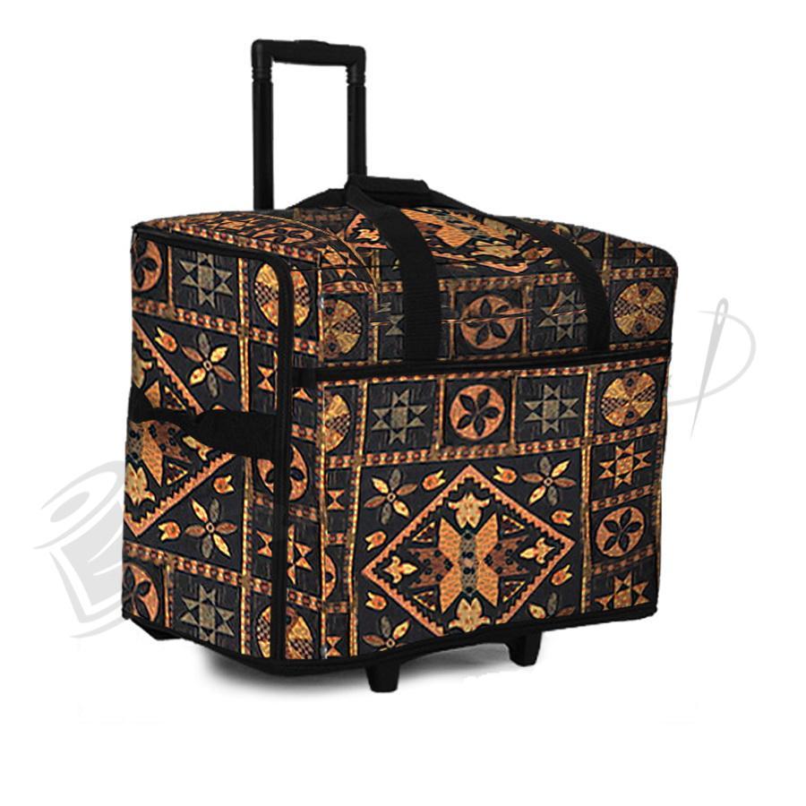 Bluefig STB-L Wheeled Serger Bag (Large) - Black Quiltin