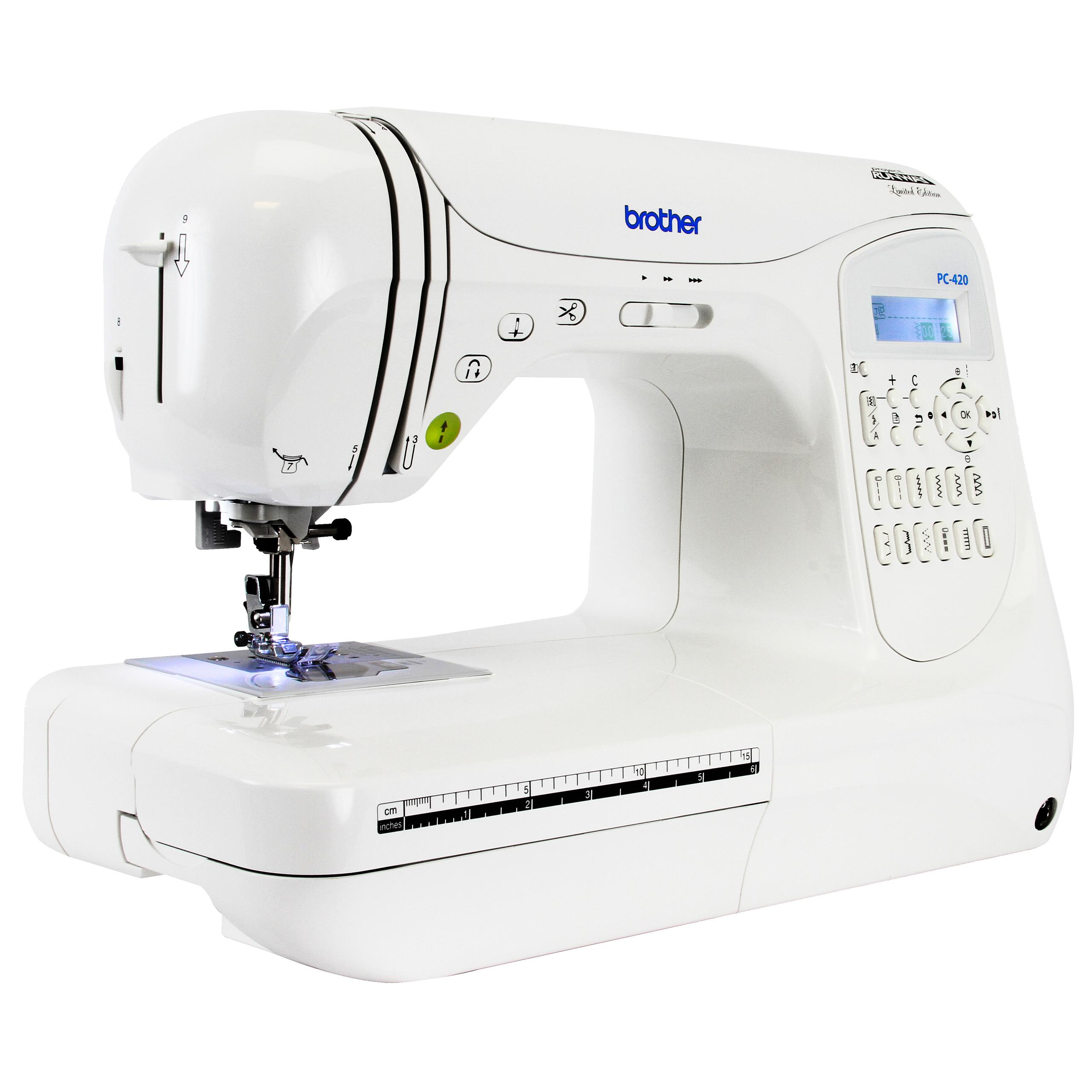 Brother PC420-PRW Project Runway Computerized Sewing Machine