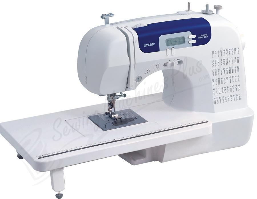 Brother CS-6000i 60 Stitch Computerized FreeArm Sewing Machine