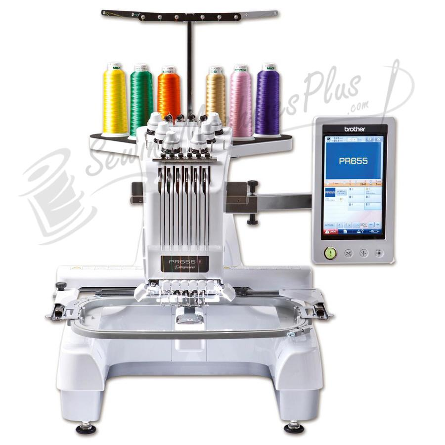 Brother Entrepreneur PR655 Advanced 6-Needle Home Embroidery