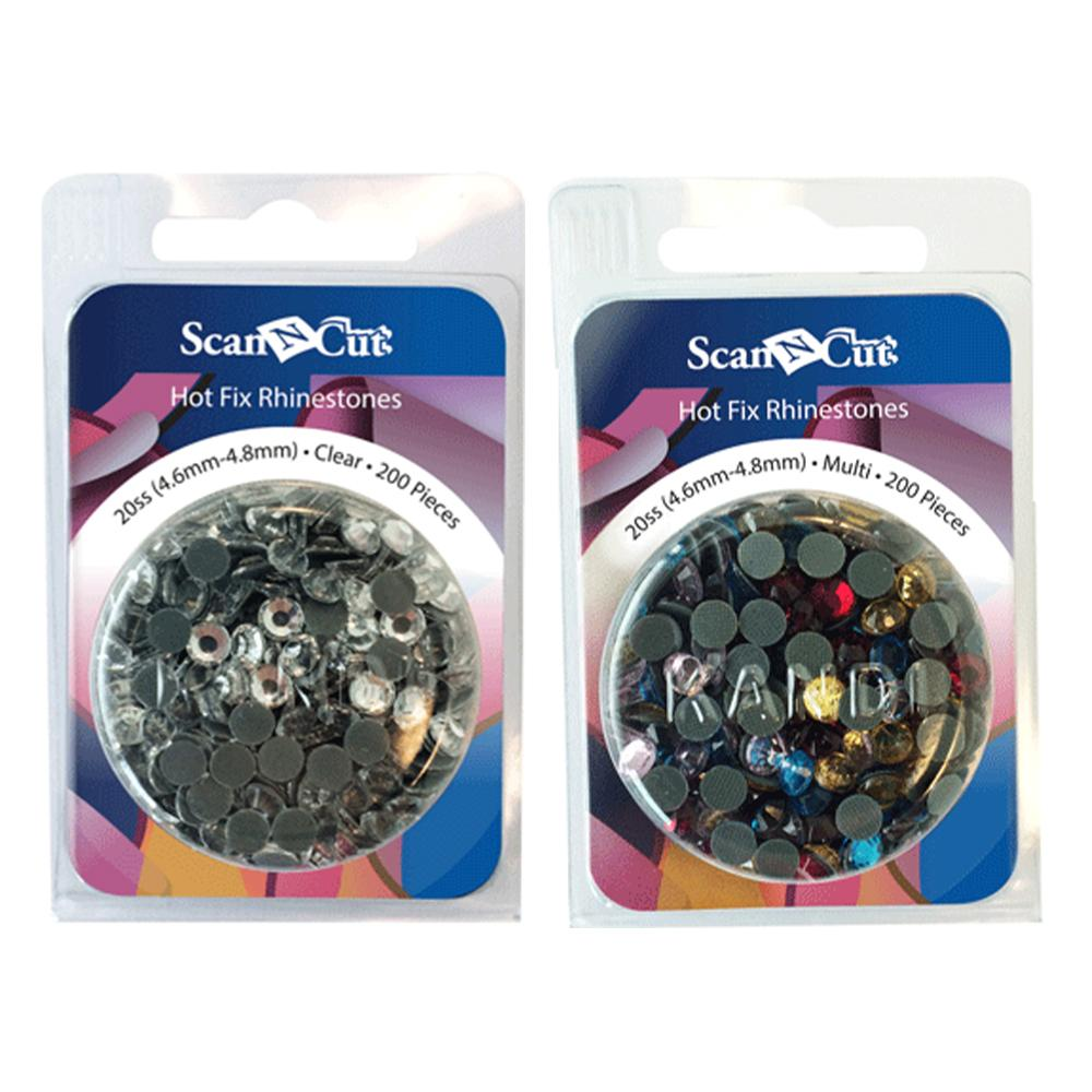 Brother Rhinestone Refill Pack 20SS - Includes 200 Pieces - Two Colors Available