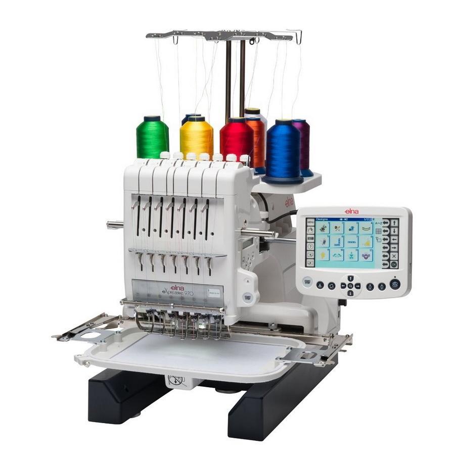 Elna Expressive 970 Multi Needle Embroidery Machine
