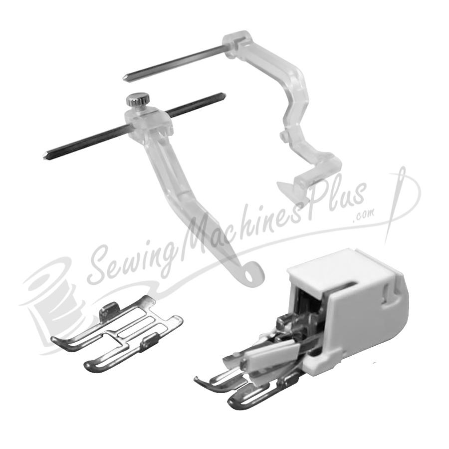 Janome Convertible Even Feed Foot Set for Memory Craft Embroidery Machines and High Shank Models