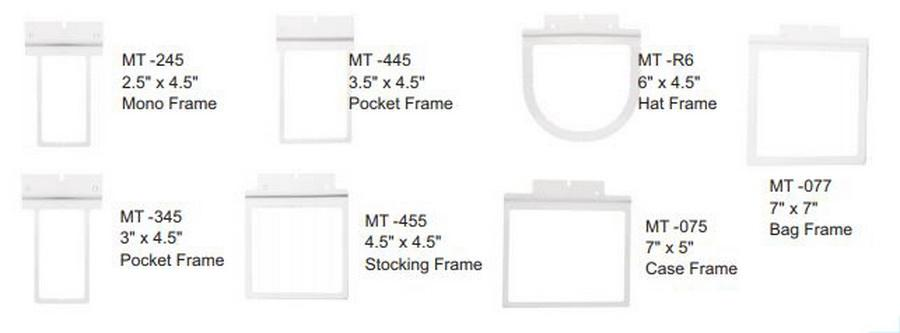 Janome 7 in 1 Fast Metal Frame (MT-JAN)