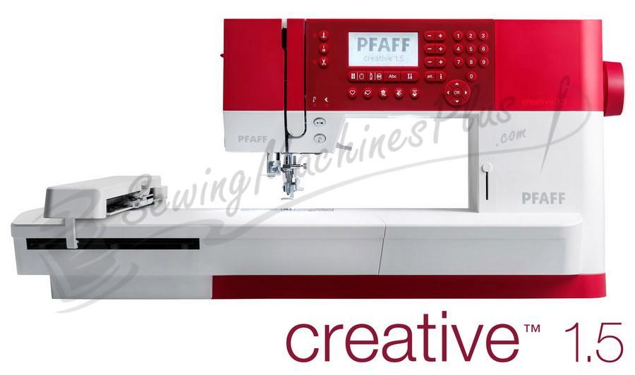 Pfaff Creative 1.5 Sewing and Embroidery Machine
