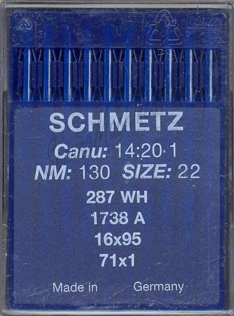 Schmetz S16X95-22 Needle 140/22-10pk.