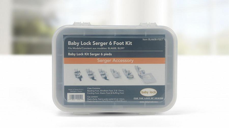 Baby Lock Vibrant Serger 6 Foot Kit