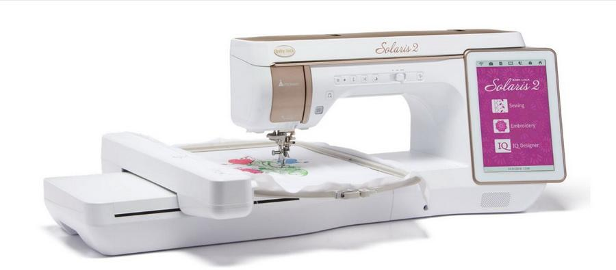 Baby Lock Solaris 2 Top Of The Line Sewing, Embroidery & Quilting Machine