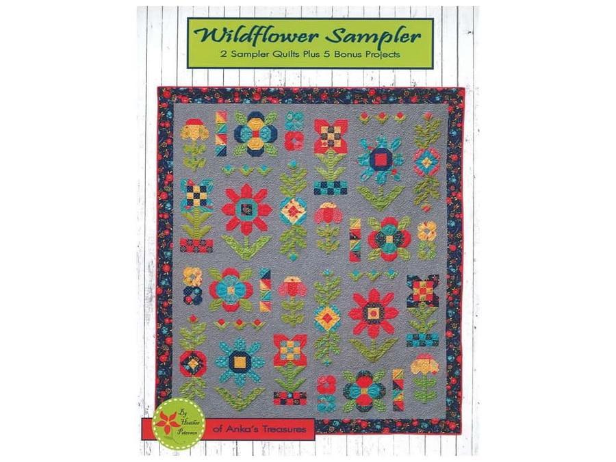 Ankas Treasures Wildflower Sampler Book