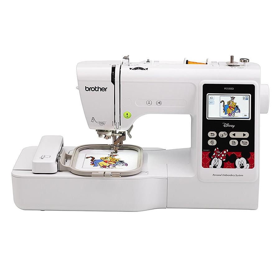 Brother Refurbished PE550D 4in x 4in Embroidery Machine with Built in Disney Designs