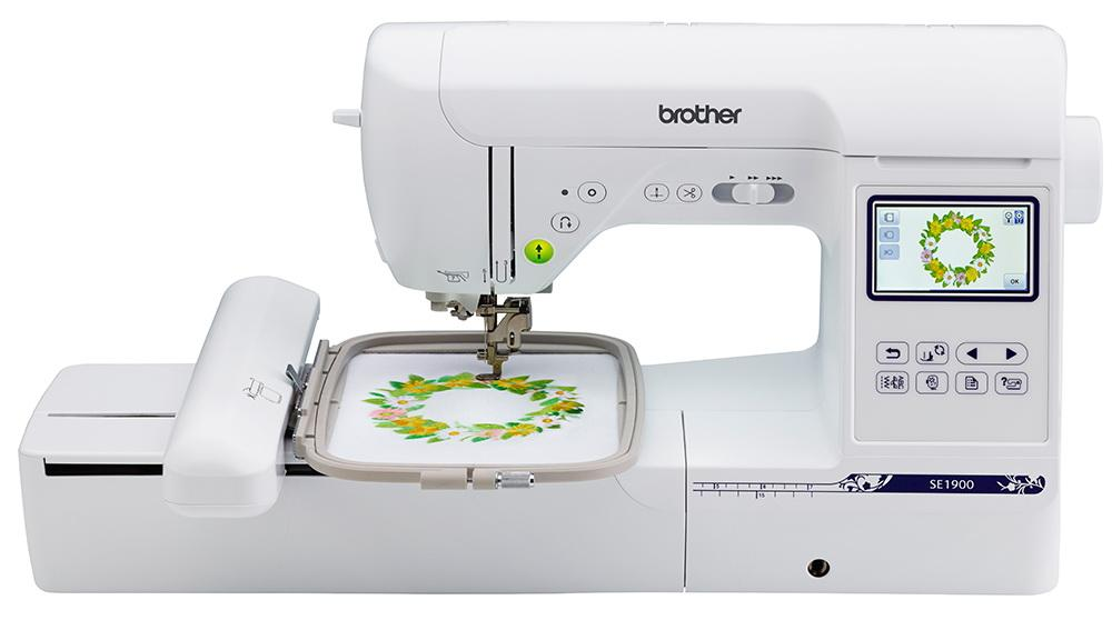 Brother SE1900 Sewing and Embroidery Machine w/ 240 stitches and 5in x 7in Embroidery area