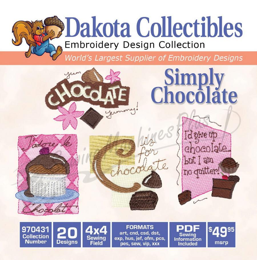Dakota Collectibles Simply Chocolate 970431