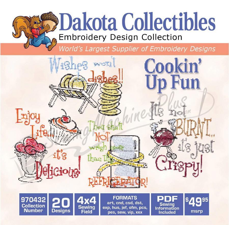 Dakota Collectibles Cookin Up Fun 970432