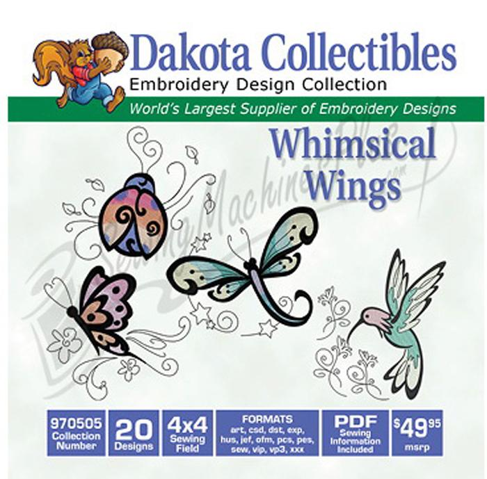Dakota Collectibles Whimsy Wings 20 4x4 (970505)