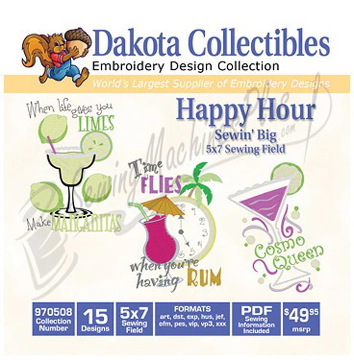 Dakota Collectibles Happy Hour 15 5x7 (970508)