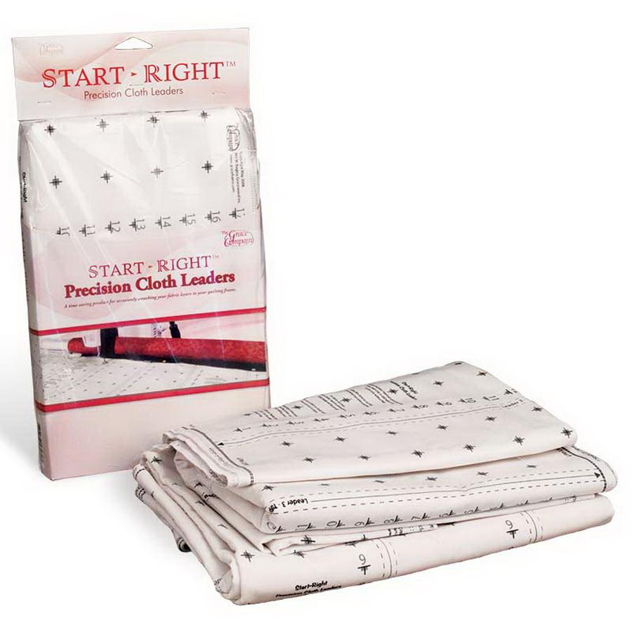 Grace Start-Right Cloth Leaders for quilting frames
