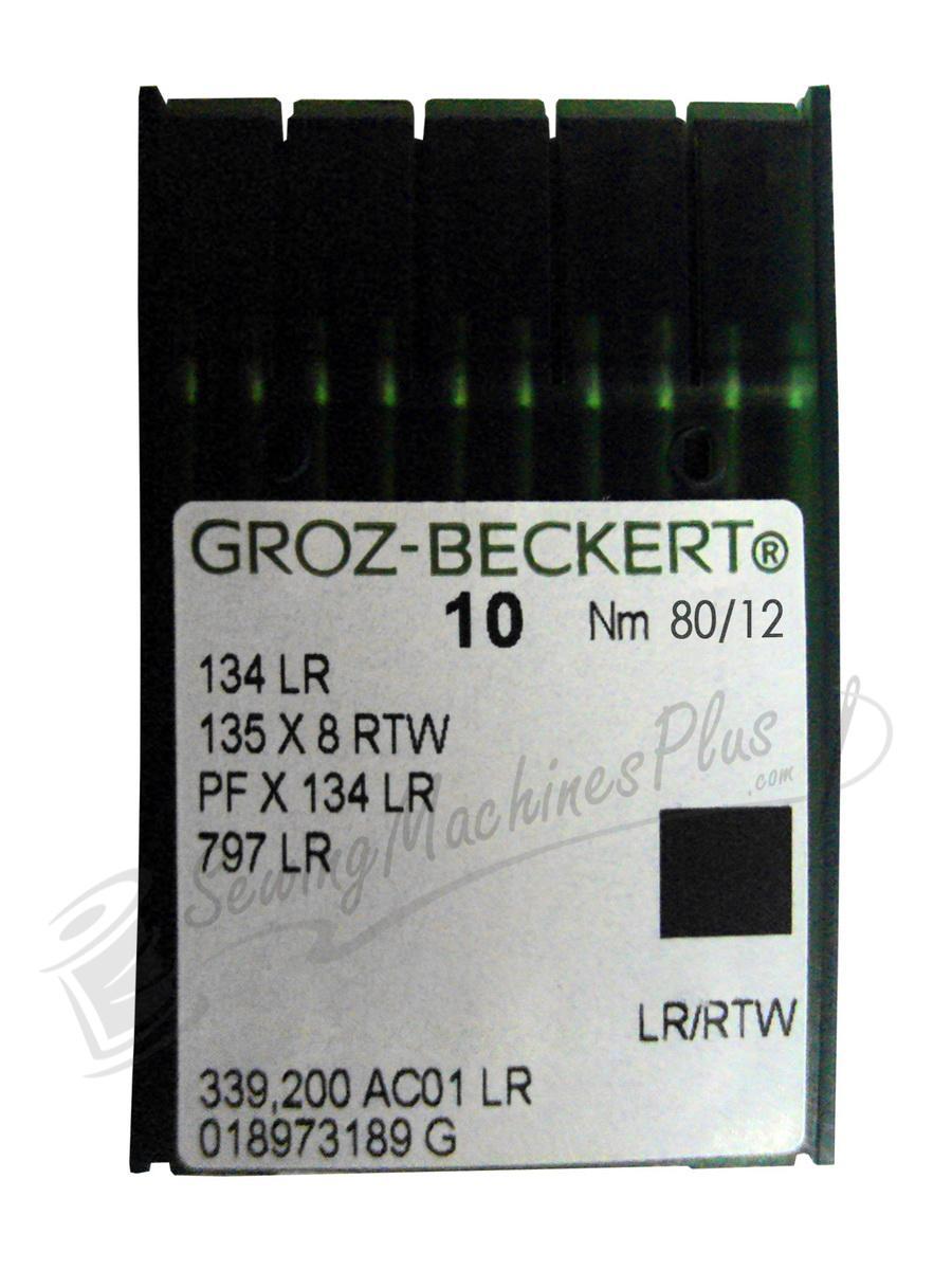 Groz-Beckert 134R Sharps 80/12 (135x7)