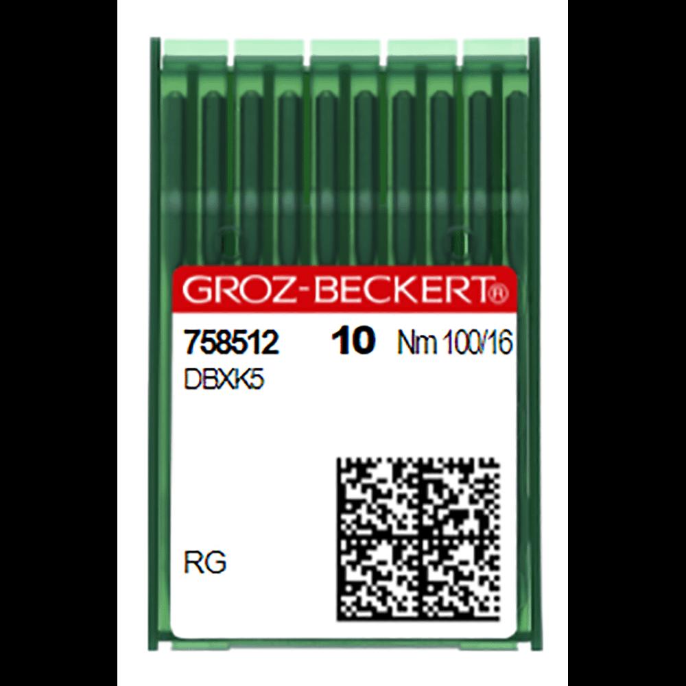 Groz-Beckert Needles DBXK5 FG (Med Ball Point)  (Nm)100/16 (758512)