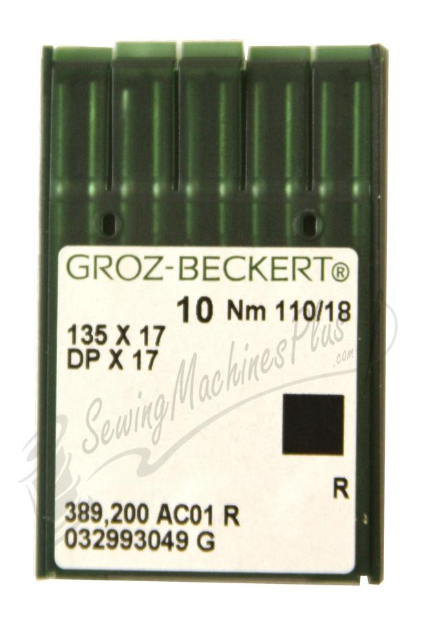 Groz-Beckert  Industrial Needles DPx17, 135X17 #18 10pk.