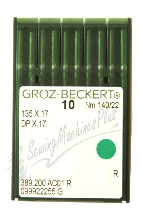 Groz-Beckert  Industrial Needles DPx17, 135X17 #22 10pk.