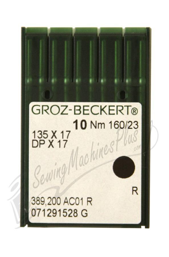 Groz-Beckert  Industrial Needles DPx17, 135X17 #23 10pk.