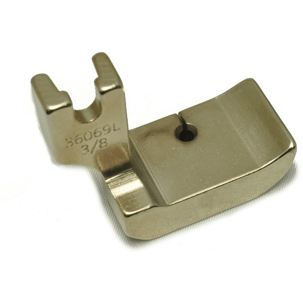 PRESSER FOOT # 36069L 3/8 inch High Shank Left Welting Piping Cording