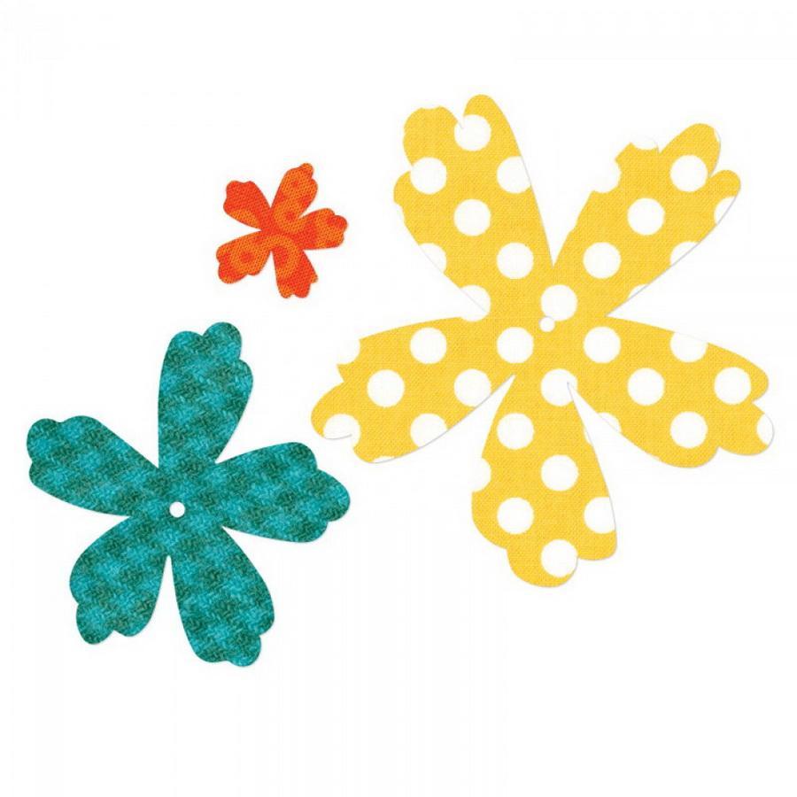 Sizzix Bigz Die - Flower Layers #4 by Debi Potter (M&G)