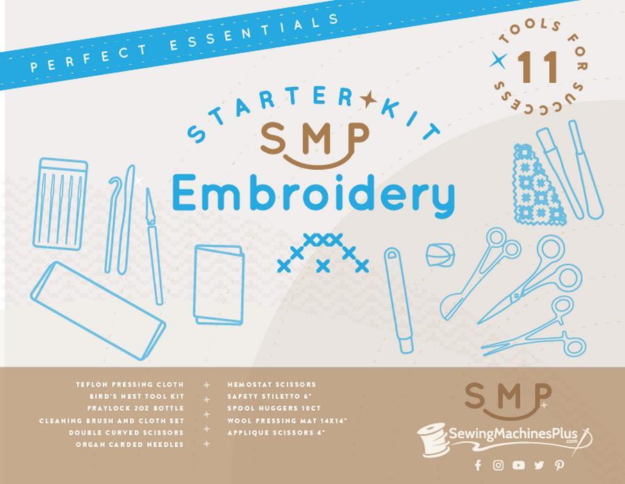 SewingMachinesPlus.com Embroidery Starter Essentials Kit