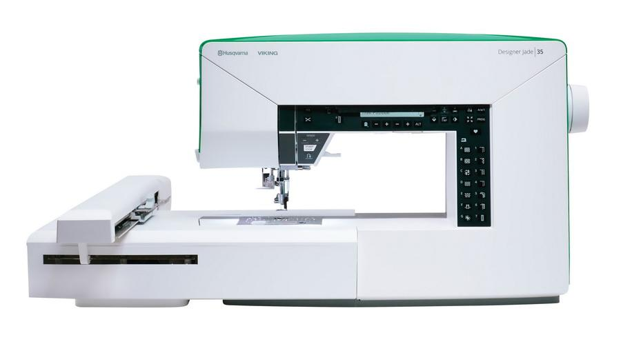 Husqvarna Viking Jade 35 Sewing and Embroidery Machine