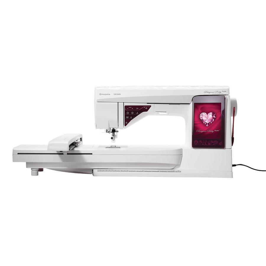 Husqvarna Viking Designer Ruby Royale Sewing and Embroidery Machine