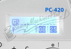 Backlit LCD Screen