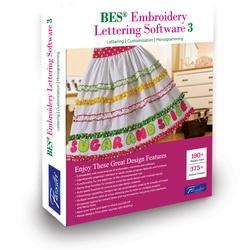 BES Embroidery Lettering Software 3 (SABESLET3)