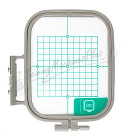 Brother Medium Embroidery Hoop - 4x4 inch Embroidery Area (SA432)