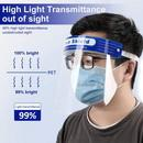 High Quality Face Shield - 10 Pack (FREE 4oz. Bottle of Hand Sanitizer Included)