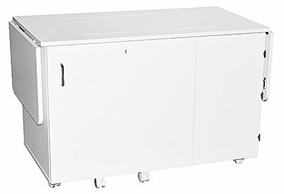Horn 6360EL Space Saver Deluxe Cabinet shown closed