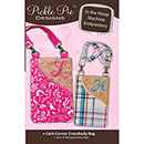 Pickle Pie Designs Cork Corner Crossbody Bags Machine Embr ITH CD (PPD90)