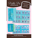 Pickle Pie Designs ITH Needle Notebooks ME CD (PPD75)