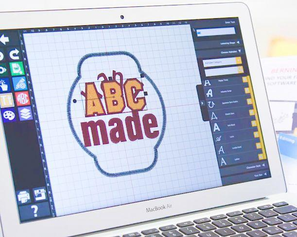 BERNINA Toolbox, the easy-to-use embroidery software