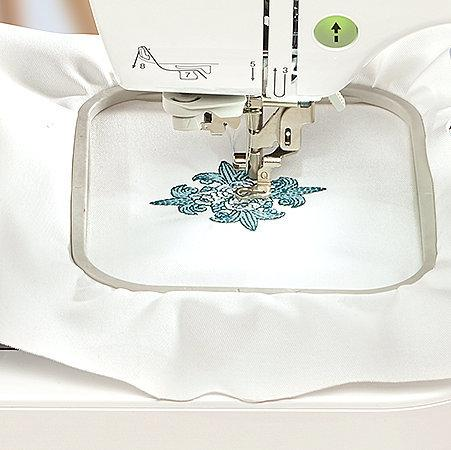 4 inch x 4 inch Embroidery field