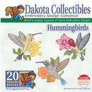 Dakota Collectibles Hummingbirds Embroidery Design - 970191