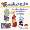 Dakota Collectibles Laced-themed Bookmarks with Applique Embroidery Designs - 970345