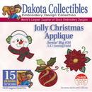 Dakota Collectibles Jolly Christmas Applique Embroidery Designs - 970386