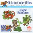 Dakota Collectibles Kiddie Rainforest Embroidery Designs - 970393