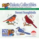 Dakota Collectibles Sweet Songbirds Embroidery Designs - 970397