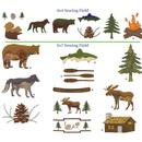 Dakota Collectibles Lodge Living Embroidery Designs - 970410