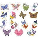Dakota Collectibles Applique Butterflies 970438