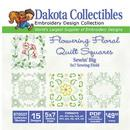 Dakota Collectibles Quilt Square 15 5x7 (970507)