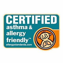 Certified Asthma & Allergy friendly