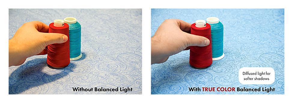 True-color Light Balanced